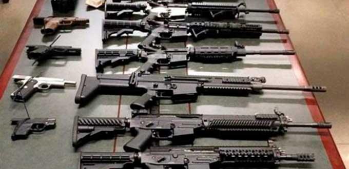 El tr fico de armas de fuego de eu a m xico incrementa la for Muebles para guardar armas de fuego